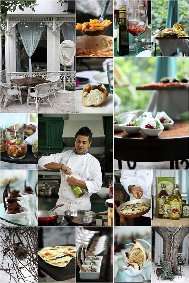 Olive Culinary Event   Up Close and Personal with Chef Saby & Leonardo ... & Sizzling Gamba {recipe}