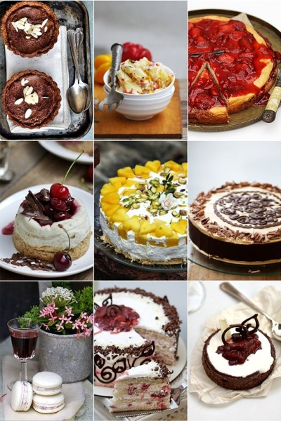 Baking| Fresh Cherry Quark Cheesecake Pie …