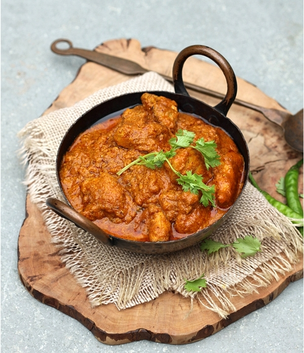 Butter Chicken {Pan fried version} from The Chakle India Cookbook