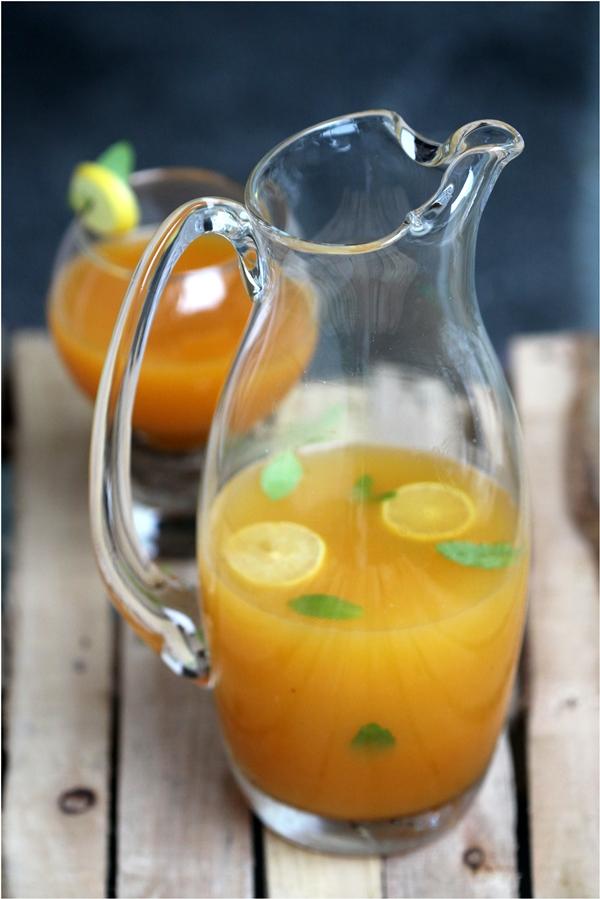 Peach Lime Cooler
