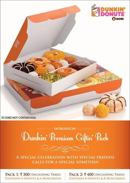 Dunkin Donuts Diwali Giftin Pack