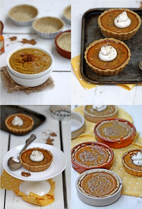 Pumpkin Pie Tartlets