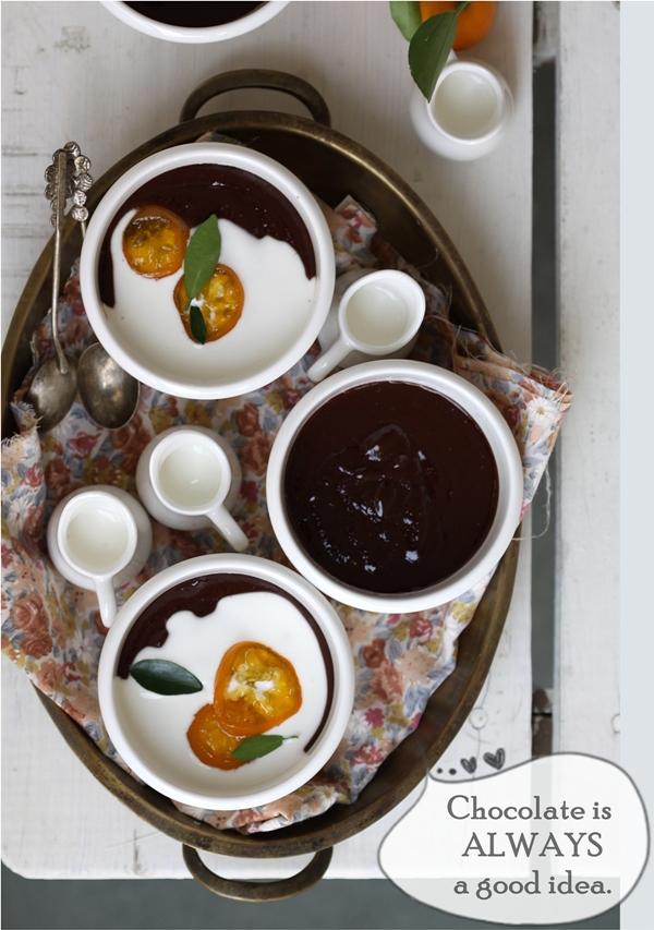 Dark Chocolate Marmalade Cake