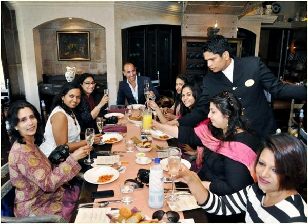 With Chef David Rocco, ITC Maurya, New Delhi