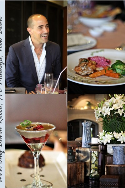 Blog Event | David Rocco, an Italian with a disarming smile. Of course he's a chef too!