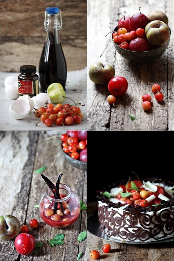 Baking | Stone Fruit & Quark Mousse Layered Cake … refreshing summer cake #stonefruitlove
