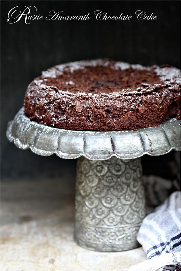 Baking | Rick Bayless's Rustic Amaranth Chocolate Cake … glutenfree