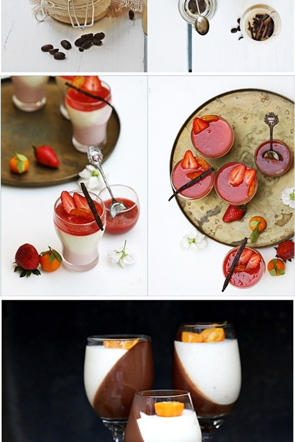 Dessert | Mango Vanilla Bean Panna Cotta … Mother's Day Special – Delicious Creamy Indulgent