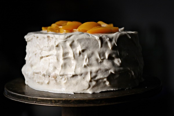 Peaches & Cream Cake 4