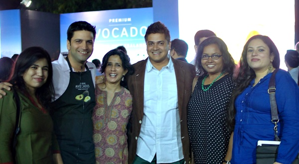 With Chef Kunal Kapoor & Chef Sabyasachi Gorai at the New Zealand High Commission for the Launch of the avocado season, Oct 2014