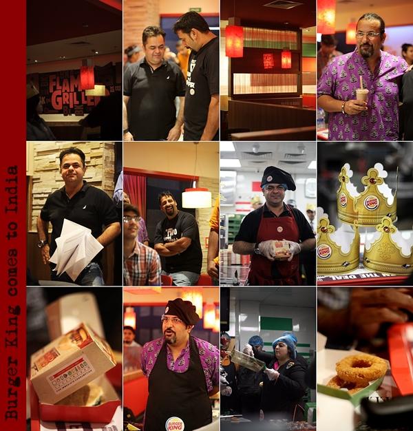 Restaurant Launch/Review | Burger King comes to India … #ChefVickyRatnani #RockyandMayur #BurgerKing