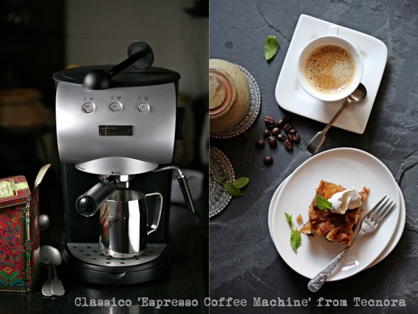 Classico 'Espresso Coffee Machine' from Tecnora