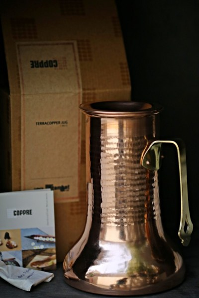 Review | Coppre … Indian traditional copperware. Reviving old traditional skills, timeless designs
