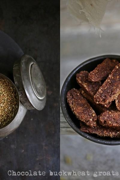 Chocolate buckwheat groats biscotti, and speaking at TEDx