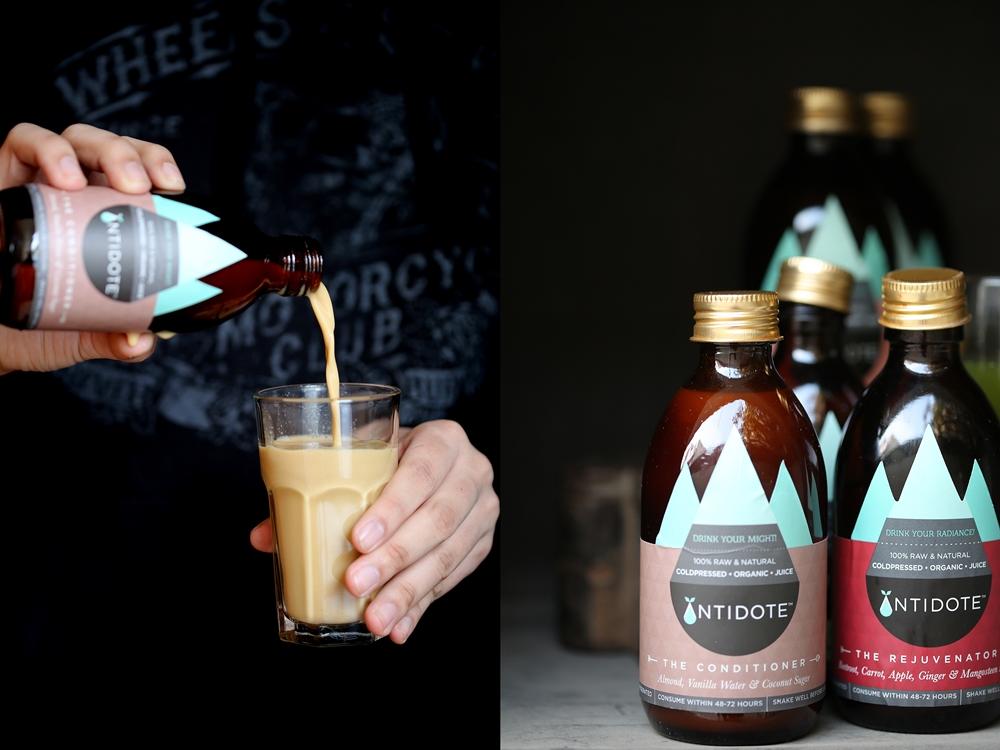 Antidote, coldpressed organic juice