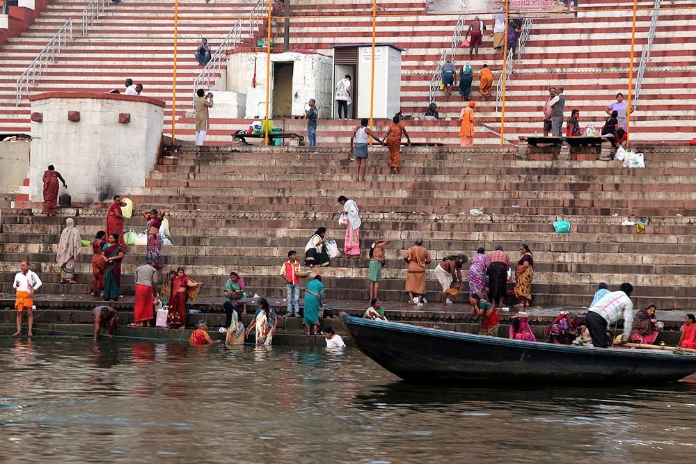 Ghats, Banaras 2016