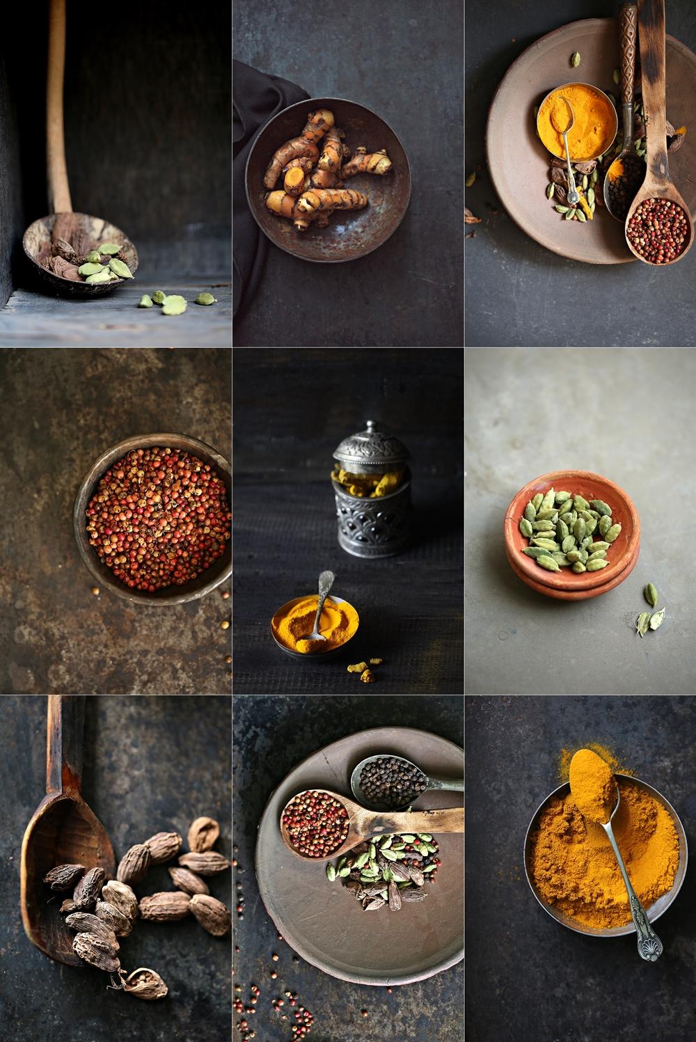 Masala Dabba, spices