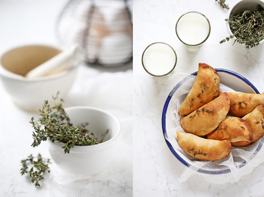 Wholewheat Apple Walnut Cheddar Thyme Hand Pies
