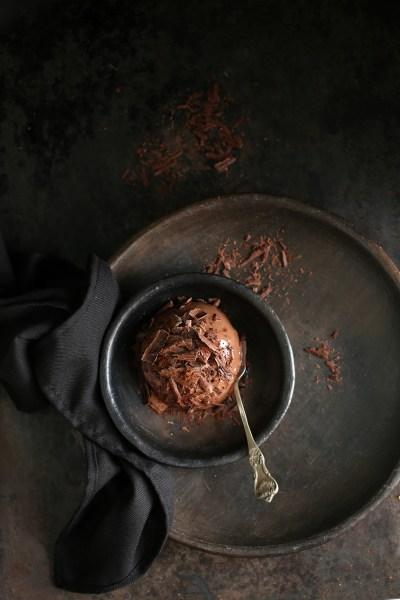 Dessert & Food Talk | Cocoa Mousse-a-Cotta … Deep, dark, indulgent dessert experiment with #somethingmissing