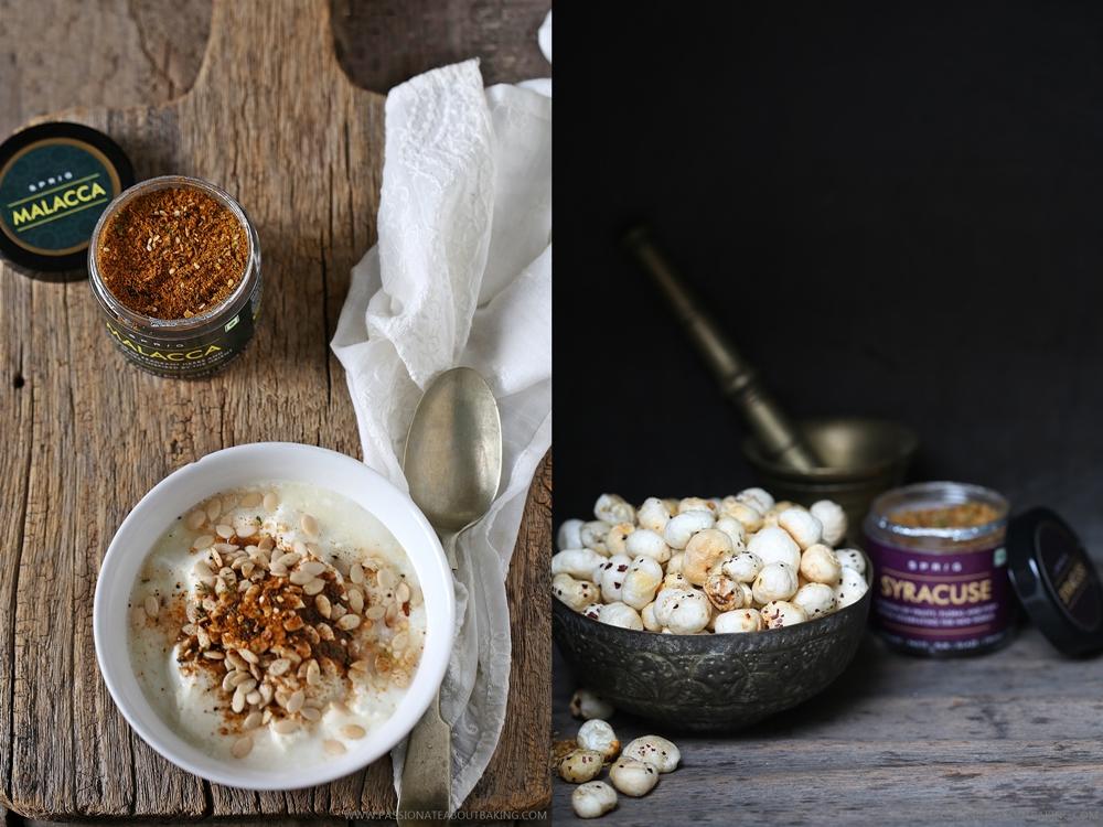 Spiced Yogurt and Foxnuts