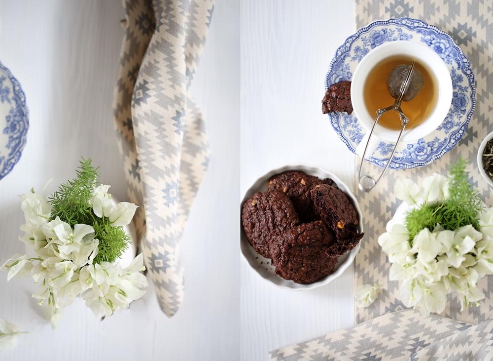 Brownie Butterscotch Wholegrain Cookies