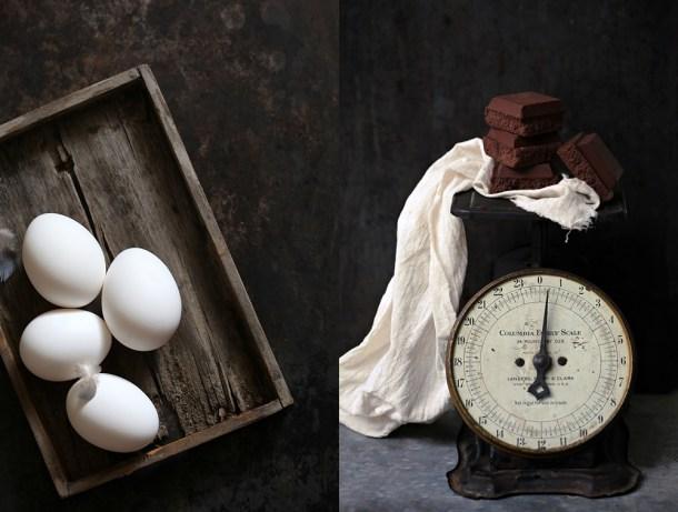 chocolate-eggs-1 Coffee Mascarpone Layered Cake with Dark Chocolate Ganache