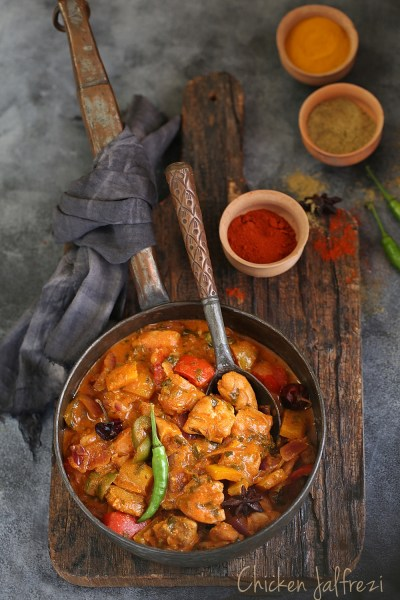 Cooking | Chicken Jalfrezi … a quick version of the Indo-Chinese stir fry curry