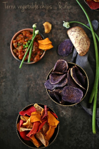 FoodTalk | Terra Chips … Exotic vegetable chips in a bag! 2 dips too #TERRAadventures