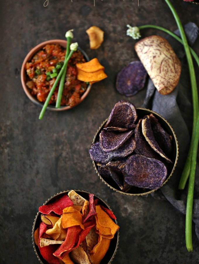FoodTalk | Terra Chips … Exotic vegetable chips in a bag! 2 dips too #TERRAadventures