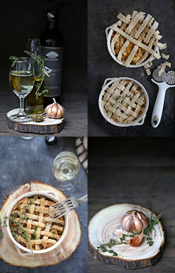 Cheesy-Chicken-Pot-Pies-3-1000 Baking | Cheesy Chicken Pot Pies ... comfort food for the holidays with #bigbanyanwines