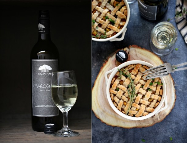 Cheesy-Chicken-Pot-Pies-5-1000 Baking | Cheesy Chicken Pot Pies ... comfort food for the holidays with #bigbanyanwines