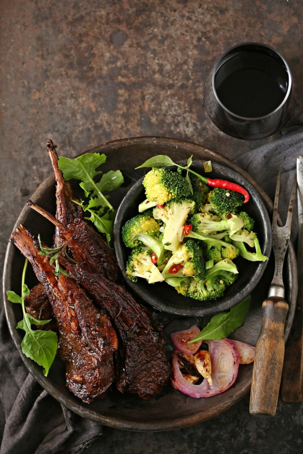 Red-Wine-Lamb-Chops-7 Cooking | Lamb Chops with Red Wine... deep, delicious holiday flavours with Big Banyan Wines