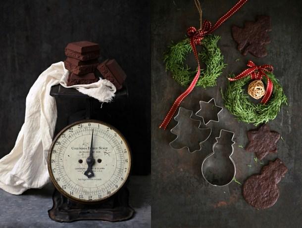 Wholegrain-Chocolate-Sables-4-1000 Baking | Wholegrain Chocolate Buckwheat Sablés . . . crisp indulgent eggless Christmas cookies