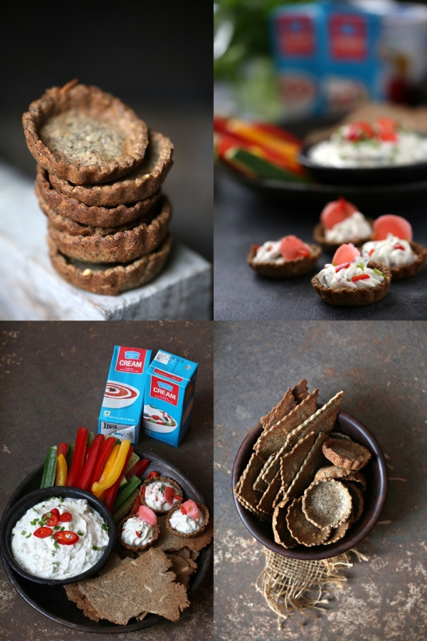 Seedy-Buckwheat-Crackers-2 Baking | Crudites with Creamy Garlic Dip and Seedy Buckwheat Crackers  ... our all time favourite