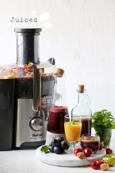 Juiced … 3 ways with fresh juice #TefalIndia #GetTheBestOutOfEveryday