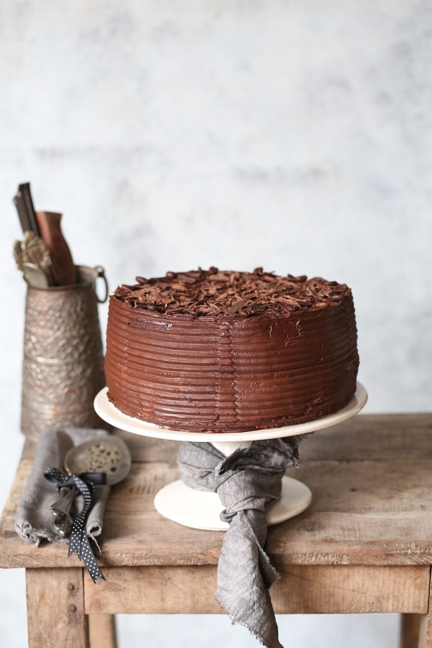 Coffee-Mascarpone-Layered-Cake-with-Dark-Chocolate-Ganache-3 Coffee Mascarpone Layered Cake with Dark Chocolate Ganache