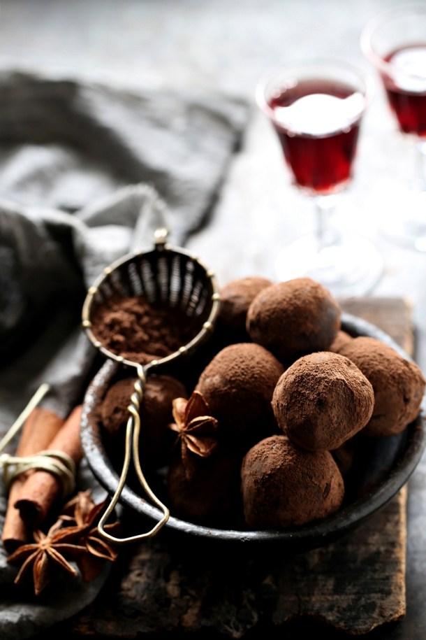 Dark-Chocolate-Garam-Masala-Truffles-1000-3 Dark Chocolate Garam Masala Truffles ... the simplest, most delicious way to use leftover fruit mince