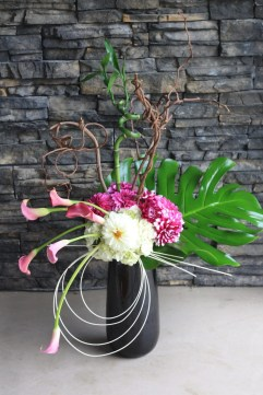 funky artist flower arrangement - Kelowna Flower Delivery Shop | Flower Arrangements & Bouquets - Passionate Blooms