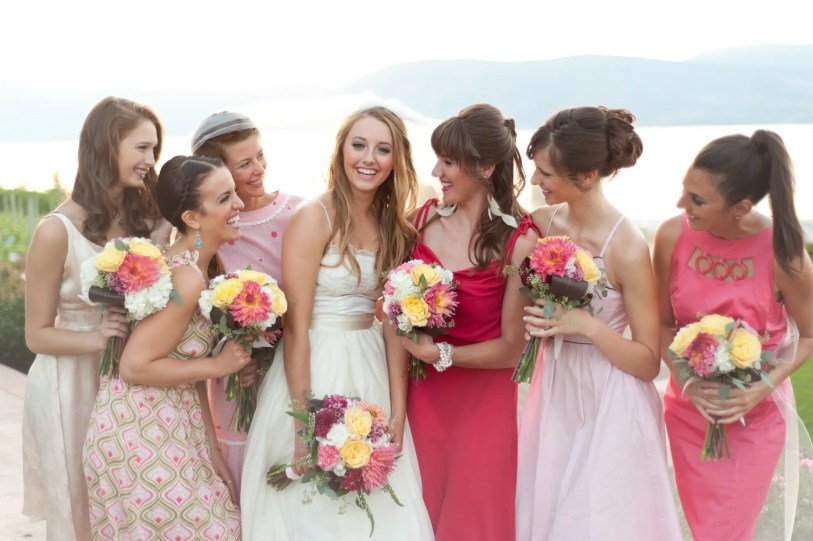 Bridesmaids - Kelowna Flower Delivery Shop | Flower Arrangements & Bouquets - Passionate Blooms