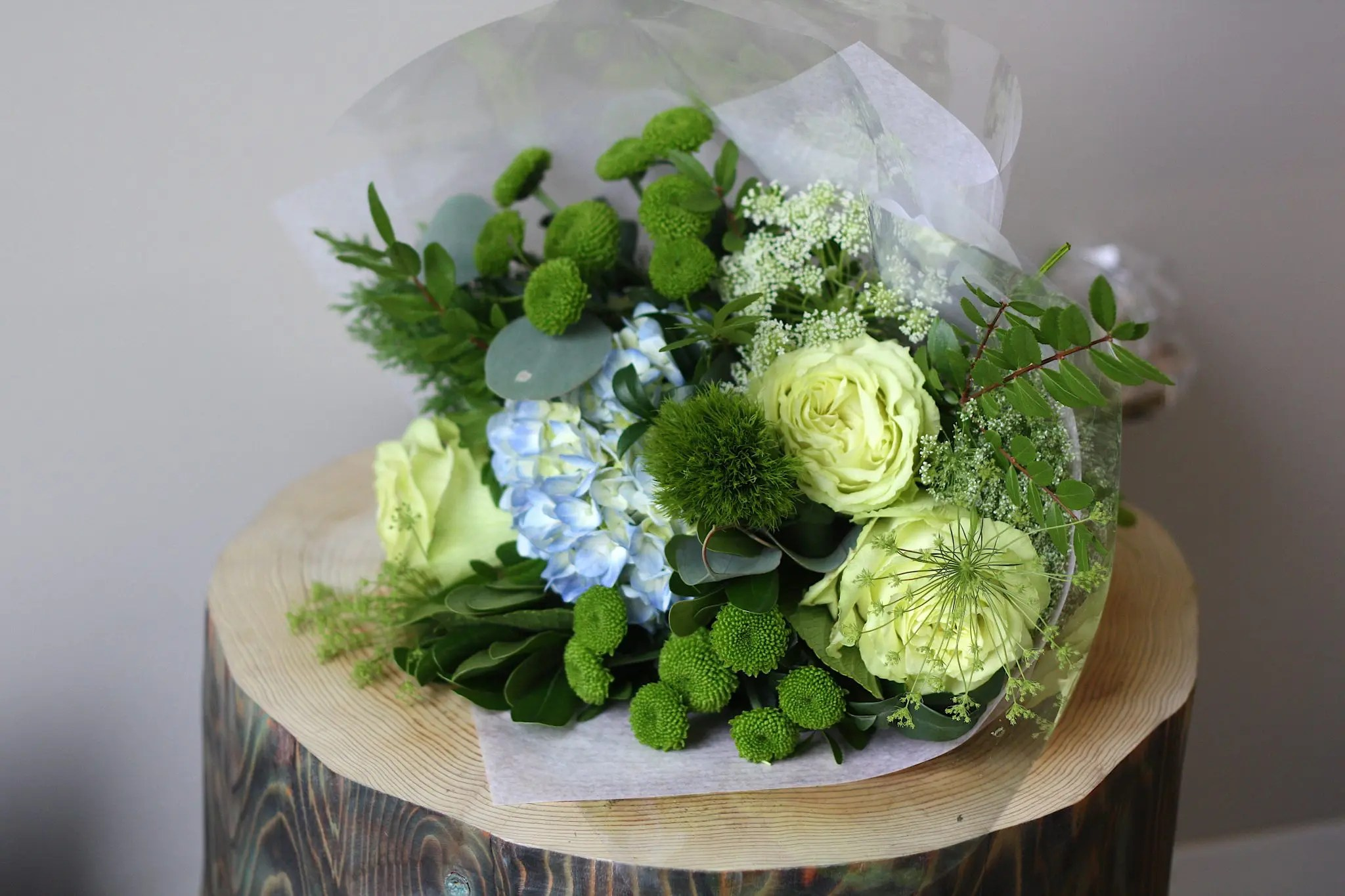 Custom hand tied bouquet passionate blooms custom hand tied bouquet izmirmasajfo Choice Image