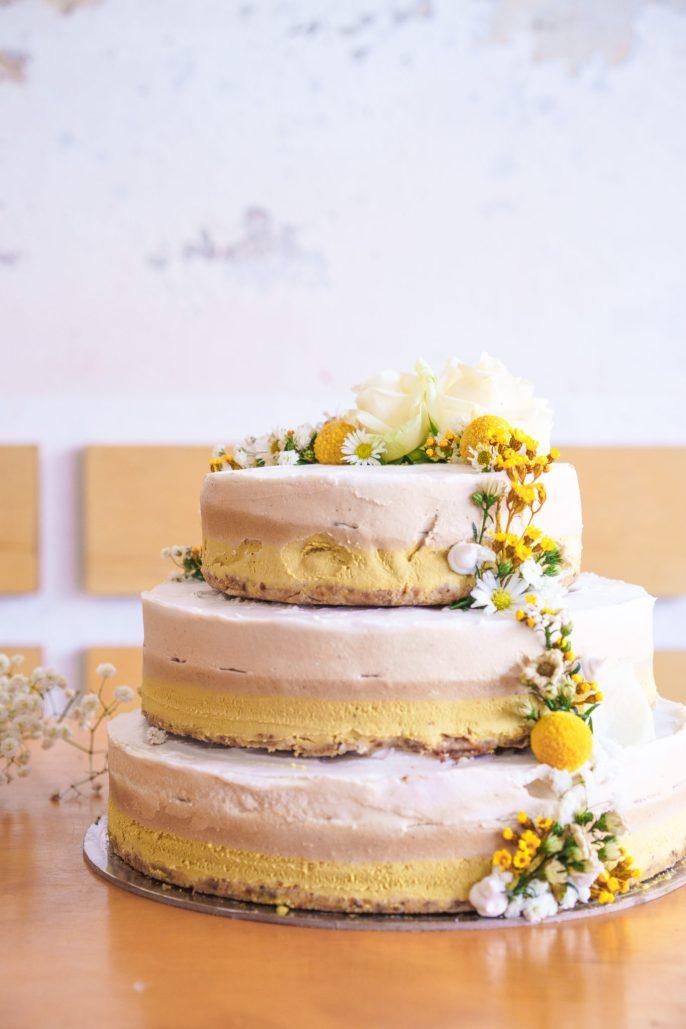 Sadhana Kitchen | Vegan Caramel Cake