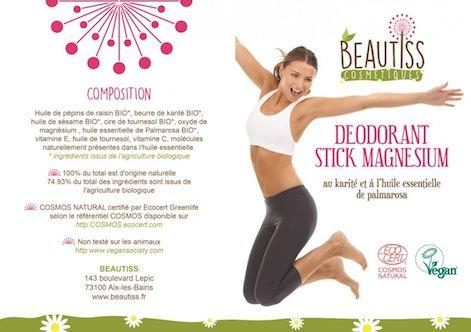 Deodorant Bio Beautiss flyer