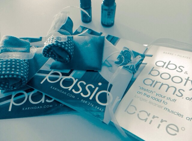 Picture of Barre Socks, Postcards and Essential Oils; New Client Specials