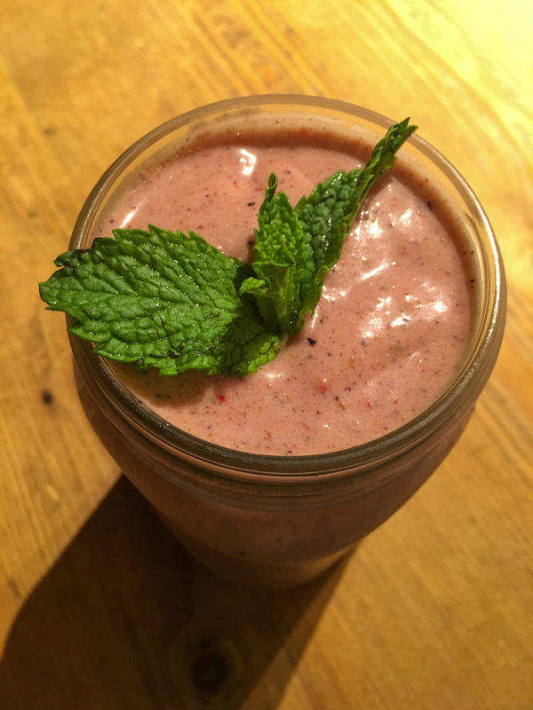 Picture of Passion Barre Peachy Green Chia Smoothie Recipe