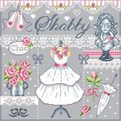 Shabby - Passion Bonheur - point de croix - point compté - fiche point de croix - fiche point compté - fiches de point de croix - fiches de point compté - grille point de croix - grille point compté - grilles point de croix - grilles point compté - diagramme point de croix - diagramme point compté - diagrammes point de croix - diagrammes point compté - broderie point de croix - broderie point compté - broderies point de croix - broderies point compté - création fiche point de croix - création fiche point compté - création grille point de croix - création grille point compté - créatrice fiche point de croix - créatrice fiche point compté - cross stitch - cross stitch pattern - cross stitch design - cross stitch chart - needle work - embroidery - embroideries