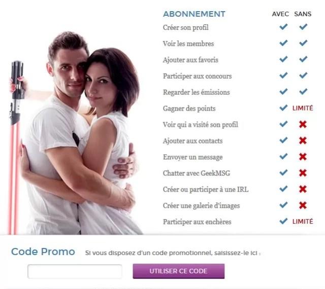 Geekmemore - Avantages Premium