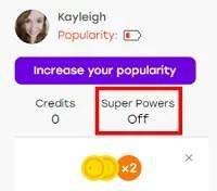 Turn Super Powers on