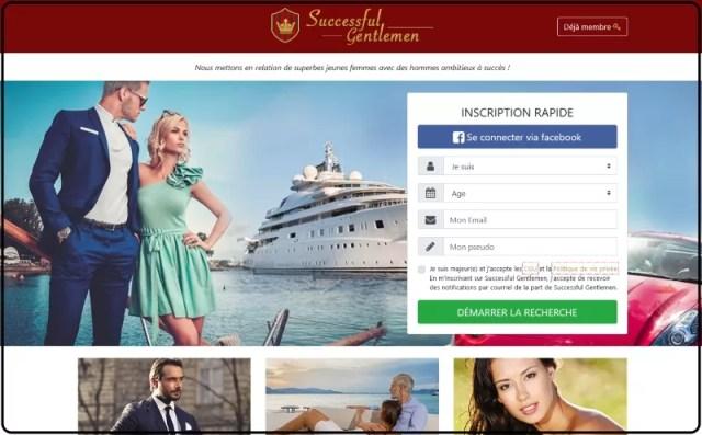Successful Gentlemen - Nouveau site de rencontre