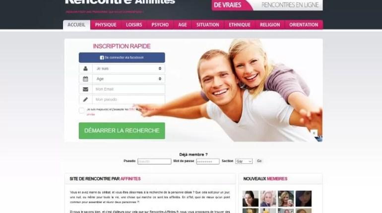 Rencontre-affinites.fr - Test, Avis et Critique
