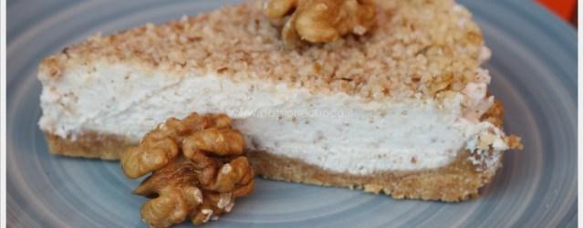 cheesecake noci e miele